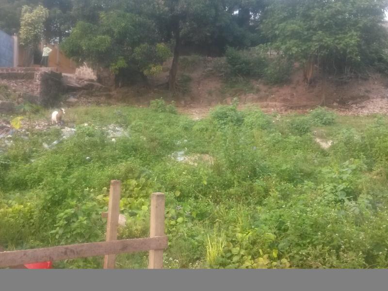 Terrain vide de 33 sur 16 à vendre à Mont Ngafula CPA